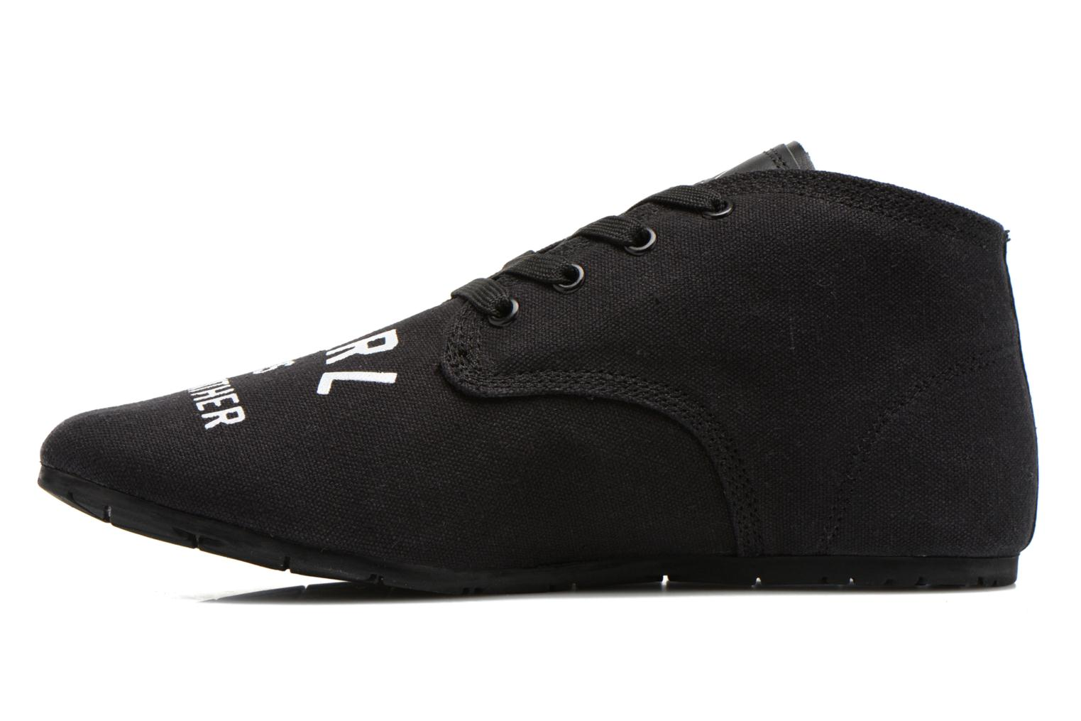 Baskets Eleven paris Basfam Noir vue face