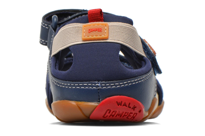 Sandales et nu-pieds Camper Ous E Bleu vue droite