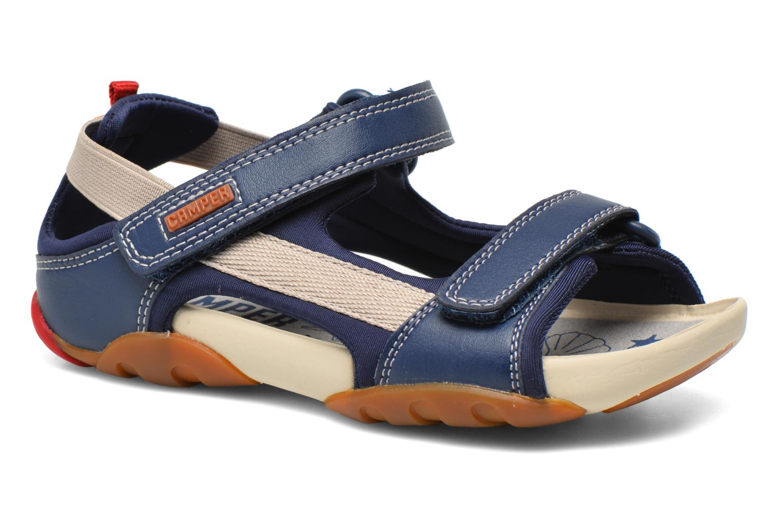 Sandales et nu-pieds Camper Ous E Bleu vue détail/paire