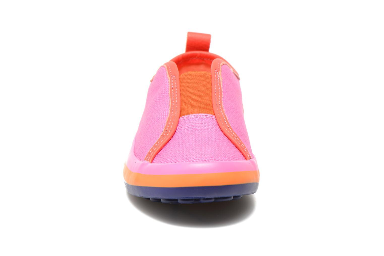 Baskets Camper Pelotas E Rose vue portées chaussures