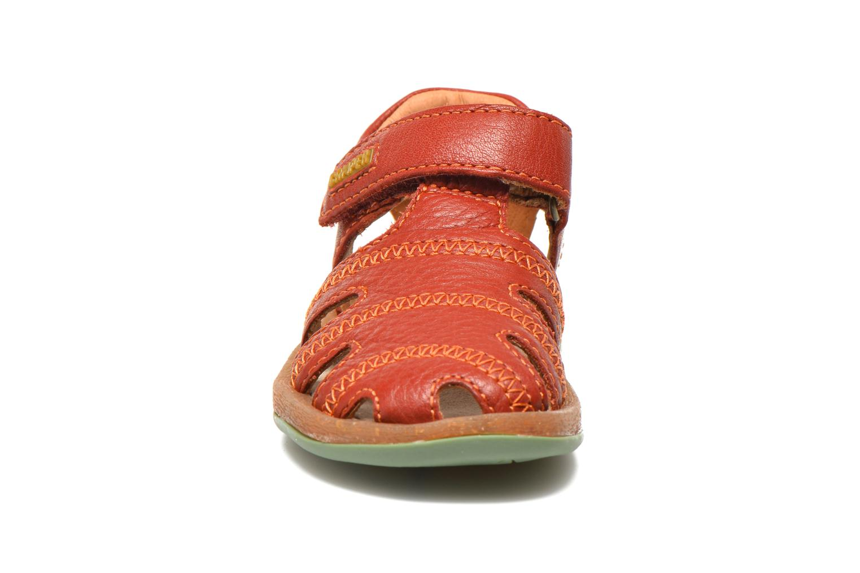 Sandales et nu-pieds Camper Bicho B Bordeaux vue portées chaussures