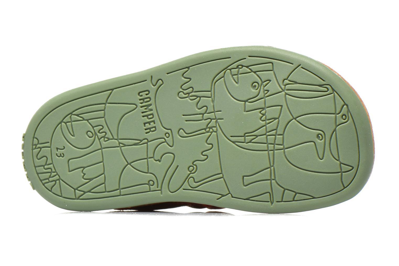 Sandales et nu-pieds Camper Bicho B Bordeaux vue haut