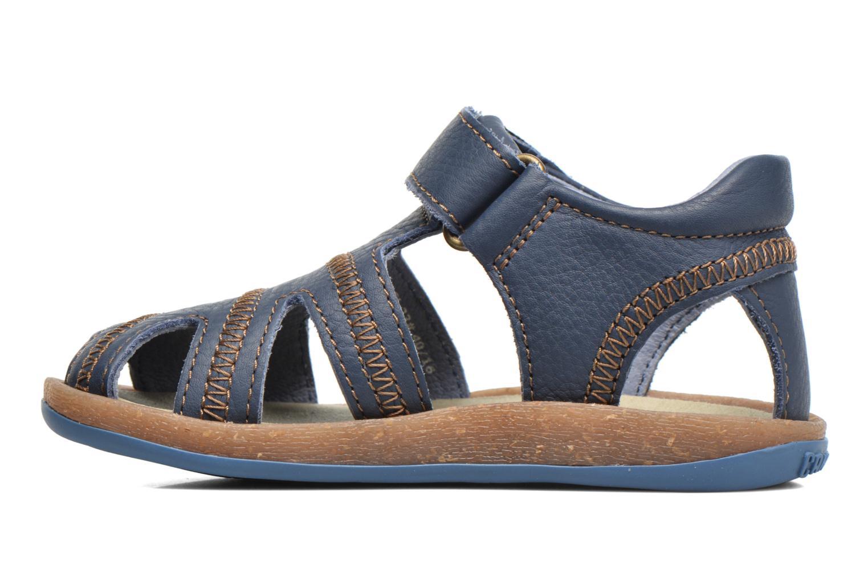 Sandals Camper Bicho B Blue front view