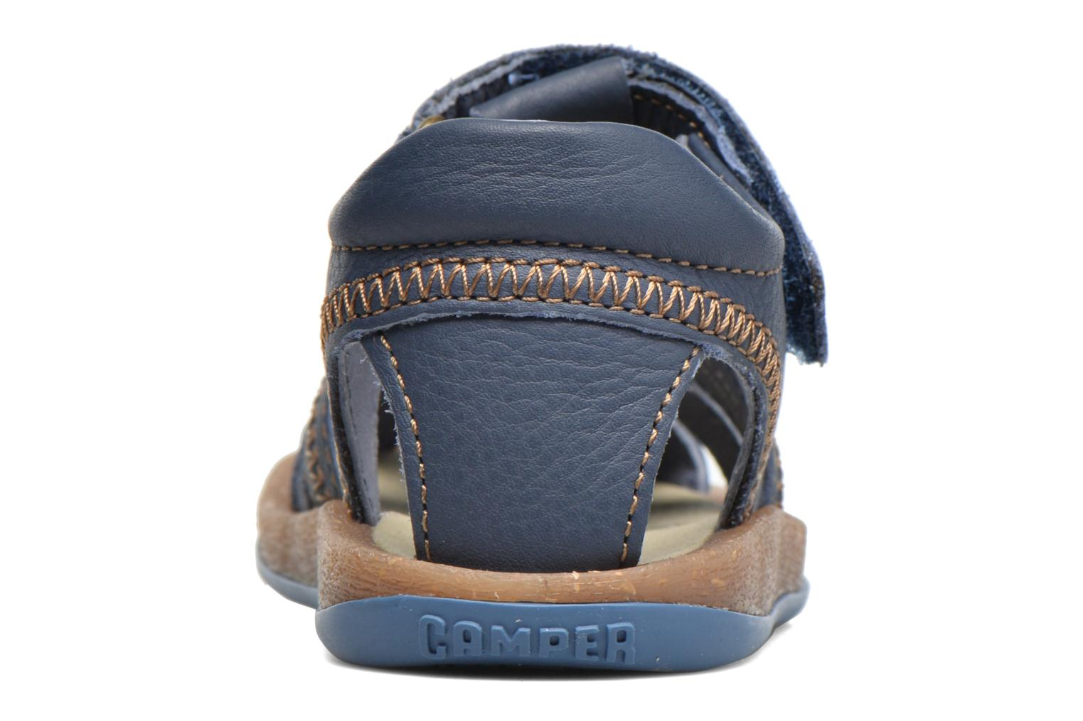 Sandals Camper Bicho B Blue view from the right