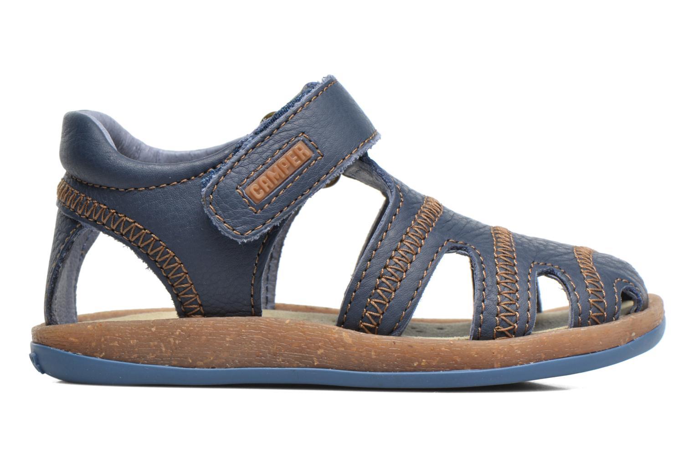 Sandals Camper Bicho B Blue back view