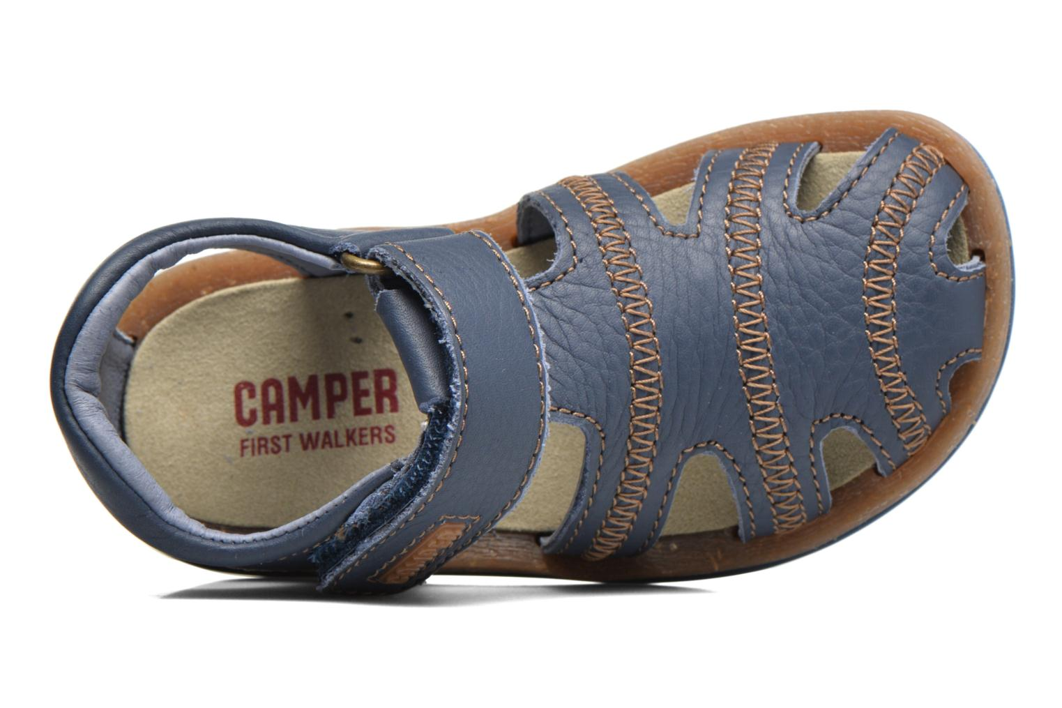 Sandals Camper Bicho B Blue view from the left