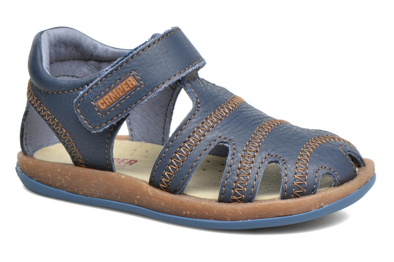 Sandals Camper Bicho B Blue detailed view/ Pair view