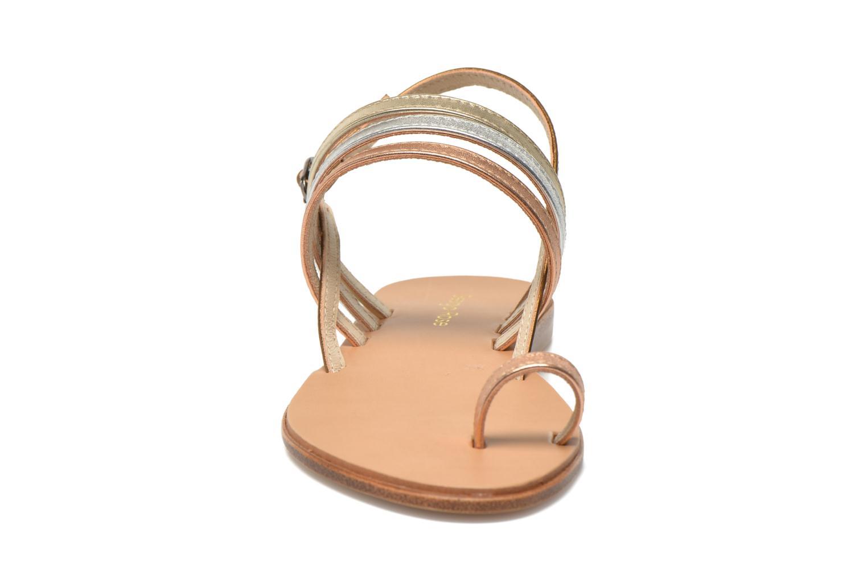 Sandalen Georgia Rose Camio gold/bronze schuhe getragen