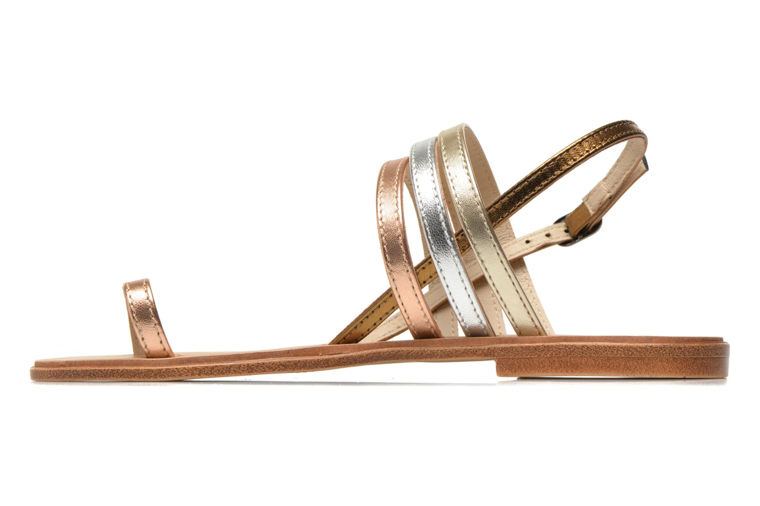 Sandals Georgia Rose Camio Bronze and Gold front view