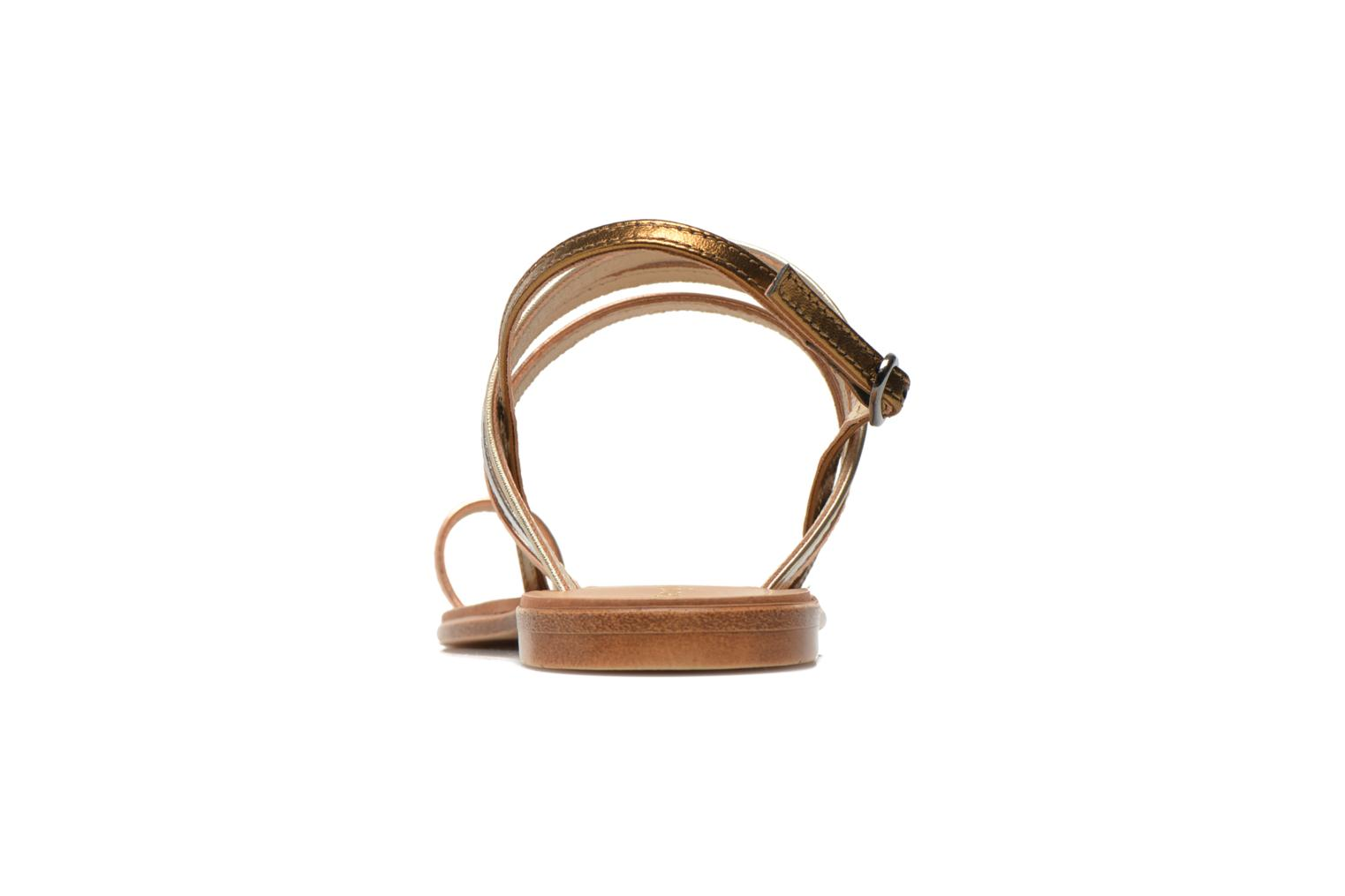 Sandals Georgia Rose Camio Bronze and Gold view from the right