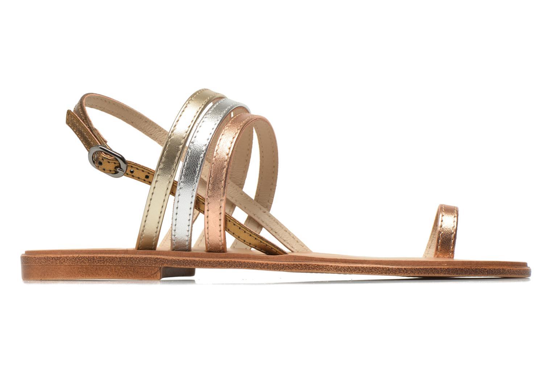 Sandalen Georgia Rose Camio gold/bronze ansicht von hinten
