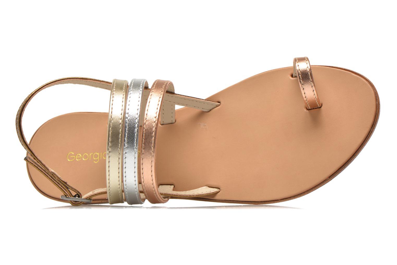 Sandalen Georgia Rose Camio gold/bronze ansicht von links