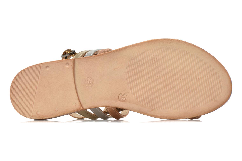Sandalen Georgia Rose Camio gold/bronze ansicht von oben