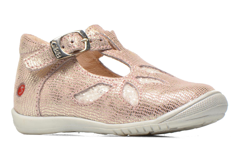 Stiefeletten & Boots GBB Marie rosa ansicht von hinten