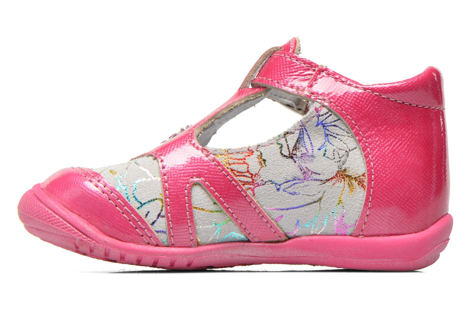 Ankle boots GBB Milla Pink front view