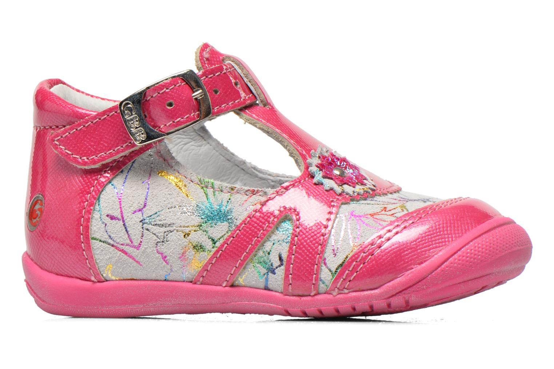 Stiefeletten & Boots GBB Milla rosa ansicht von hinten