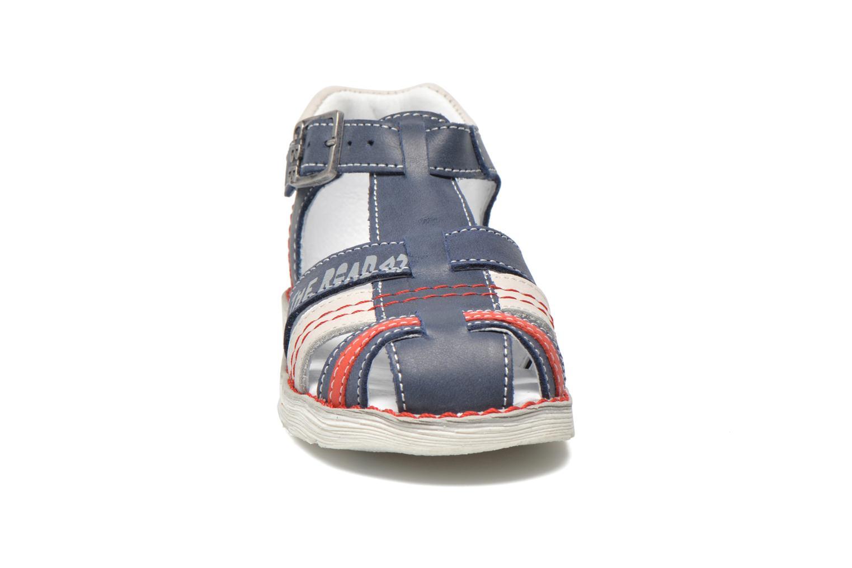 Sandales et nu-pieds GBB Max Bleu vue portées chaussures
