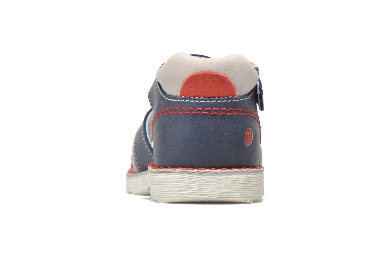 Sandales et nu-pieds GBB Max Bleu vue droite