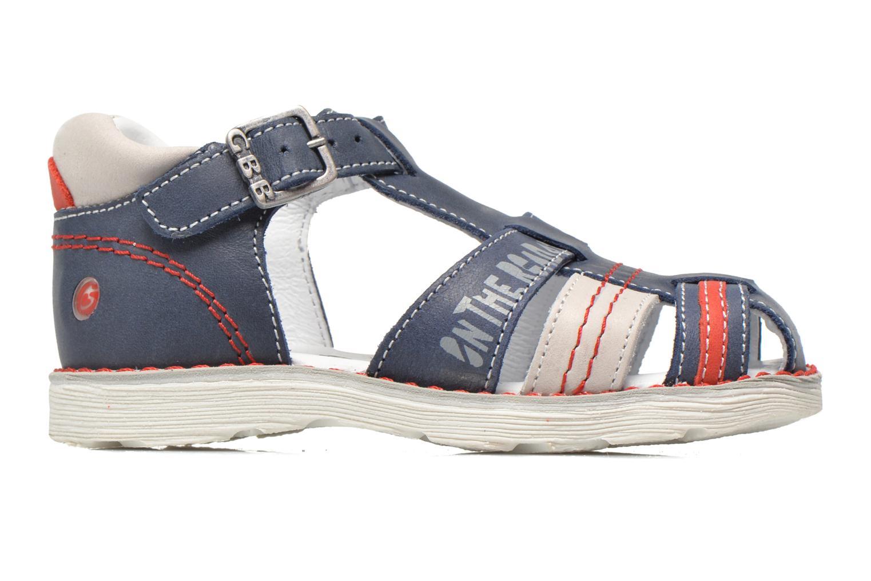 Sandales et nu-pieds GBB Max Bleu vue derrière