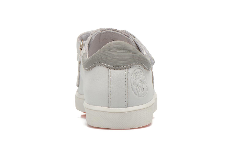 Baskets GBB Mano Blanc vue droite