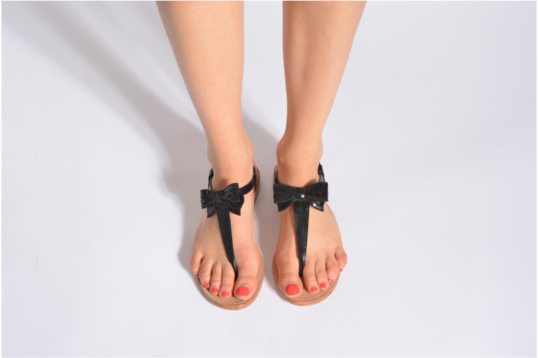 Sandales et nu-pieds Mellow Yellow Ballydolly Argent vue bas / vue portée sac