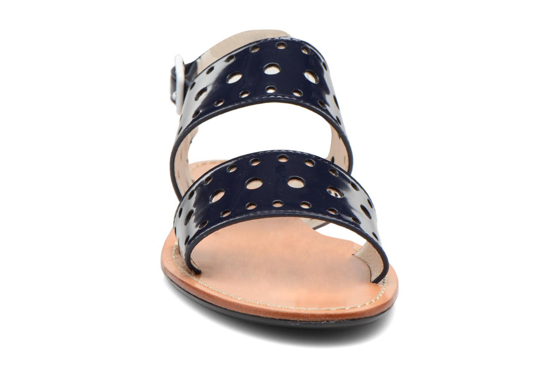 Sandales et nu-pieds Mellow Yellow Vadina Bleu vue portées chaussures
