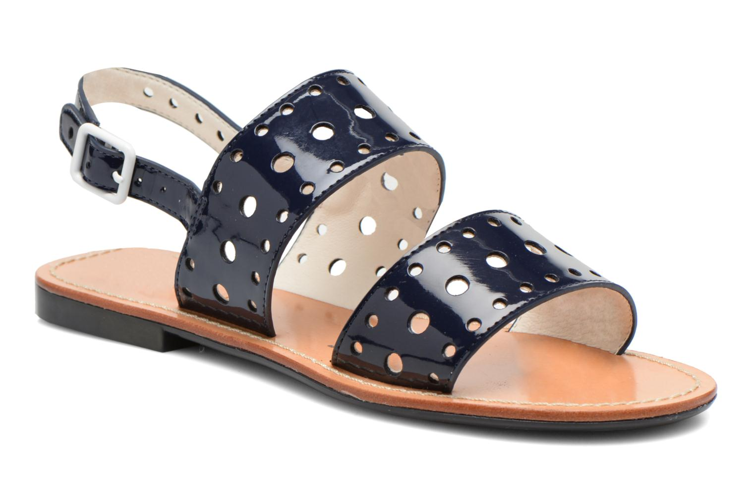 Sandals Mellow Yellow Vadina Blue detailed view/ Pair view
