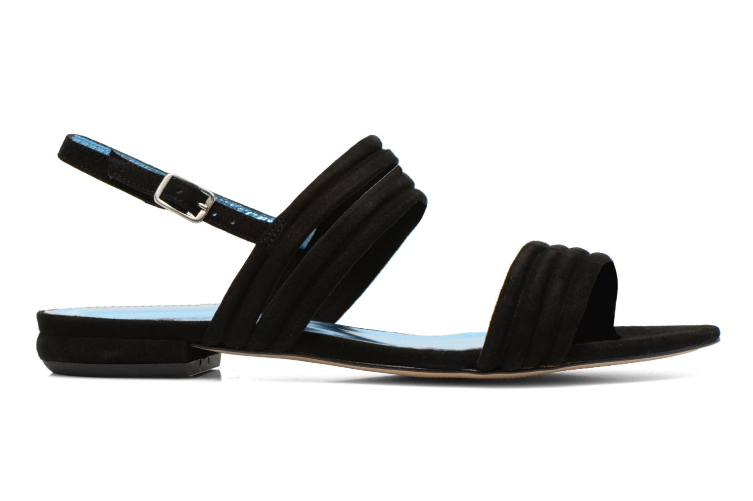 Sandals Mellow Yellow Veo Black back view