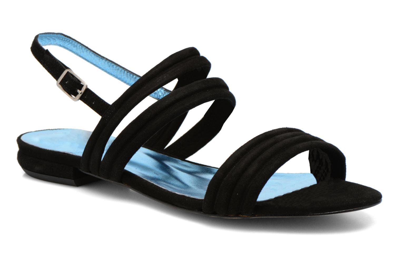 Sandales et nu-pieds Mellow Yellow Veo Noir vue détail/paire