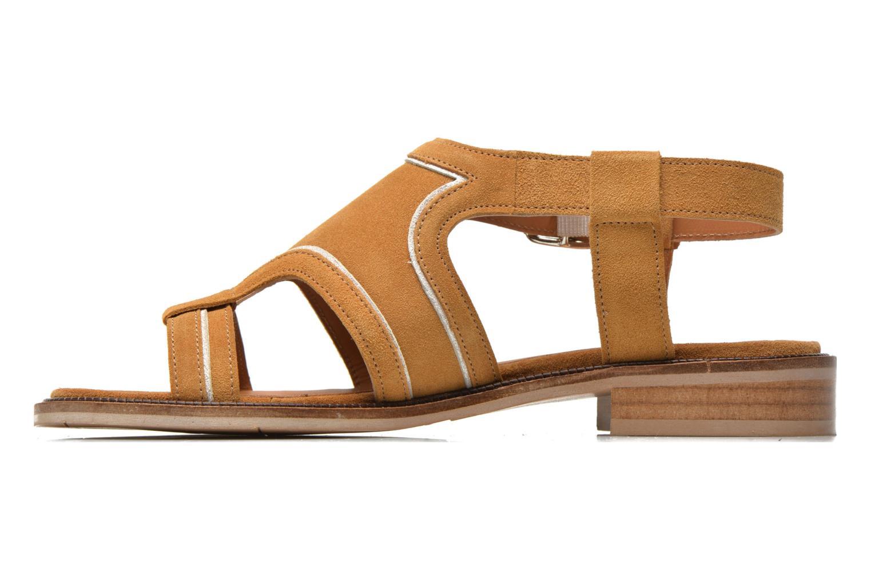 Sandales et nu-pieds Mellow Yellow Vilma Beige vue face