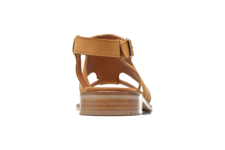 Sandales et nu-pieds Mellow Yellow Vilma Beige vue droite
