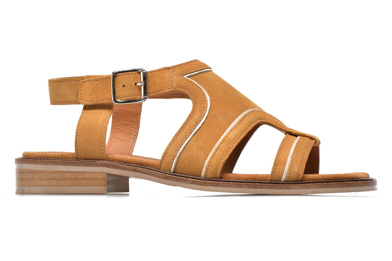 Sandales et nu-pieds Mellow Yellow Vilma Beige vue derrière