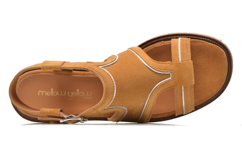 Sandales et nu-pieds Mellow Yellow Vilma Beige vue gauche