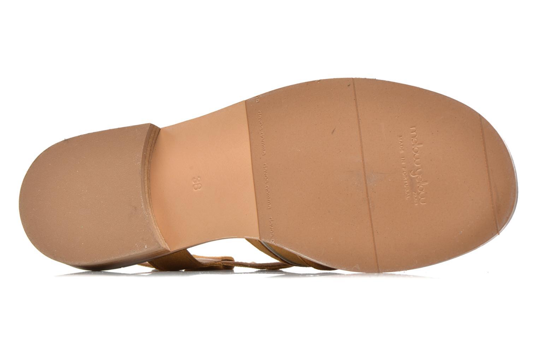 Sandales et nu-pieds Mellow Yellow Vilma Beige vue haut