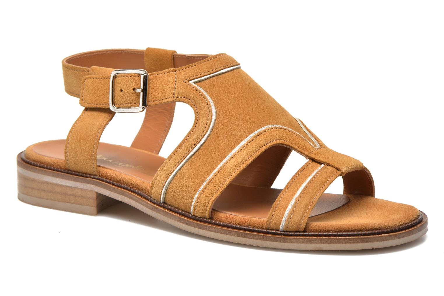 Sandals Mellow Yellow Vilma Beige detailed view/ Pair view