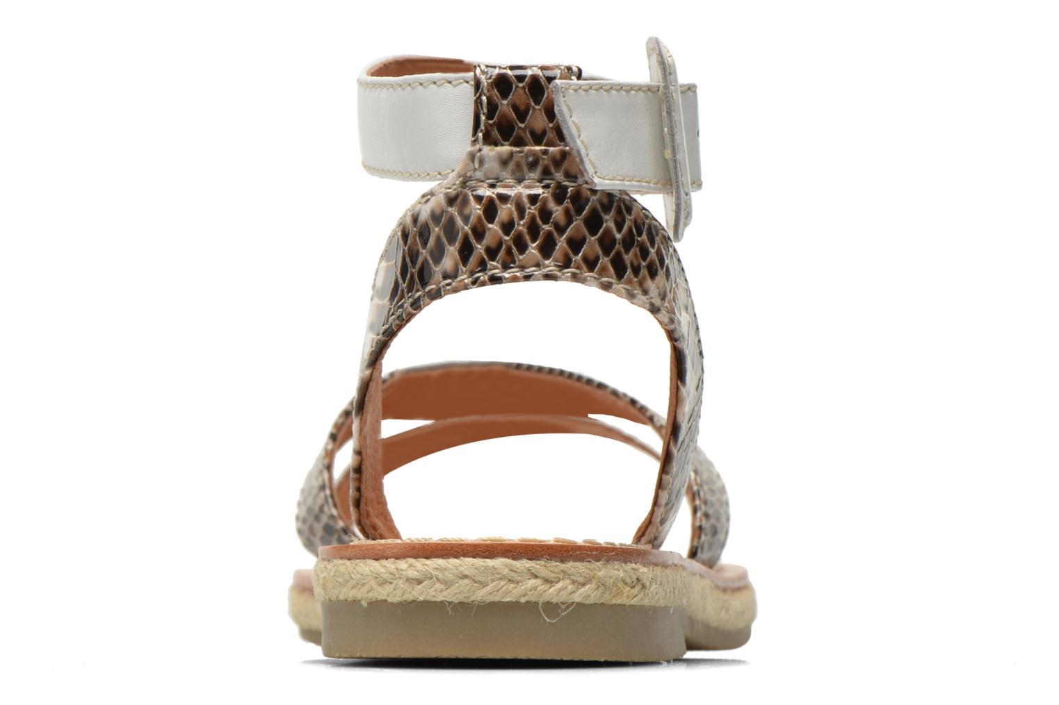 Sandals Mellow Yellow Vanadras Multicolor view from the right