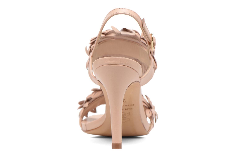 Sandales et nu-pieds COSMOPARIS Malali Beige vue droite