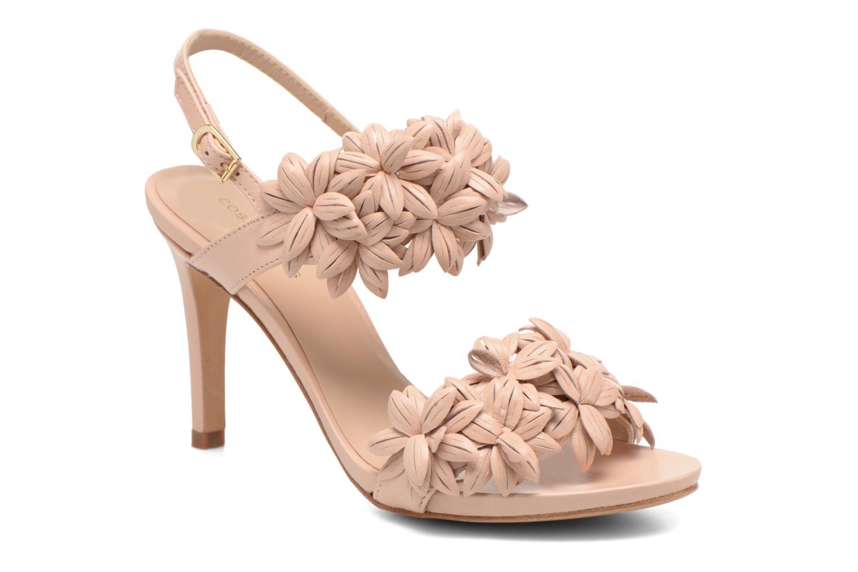 Sandales et nu-pieds COSMOPARIS Malali Beige vue détail/paire