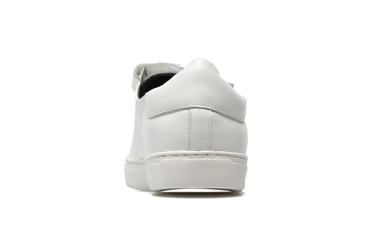 Trainers COSMOPARIS Emi White view from the right