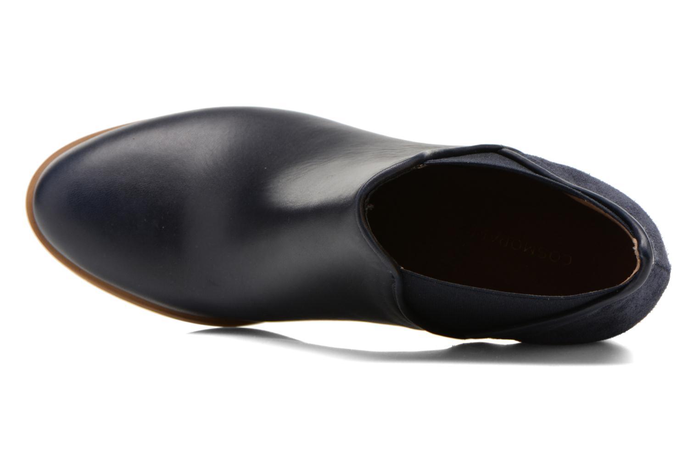 Bottines et boots COSMOPARIS Bamia/bi Bleu vue gauche