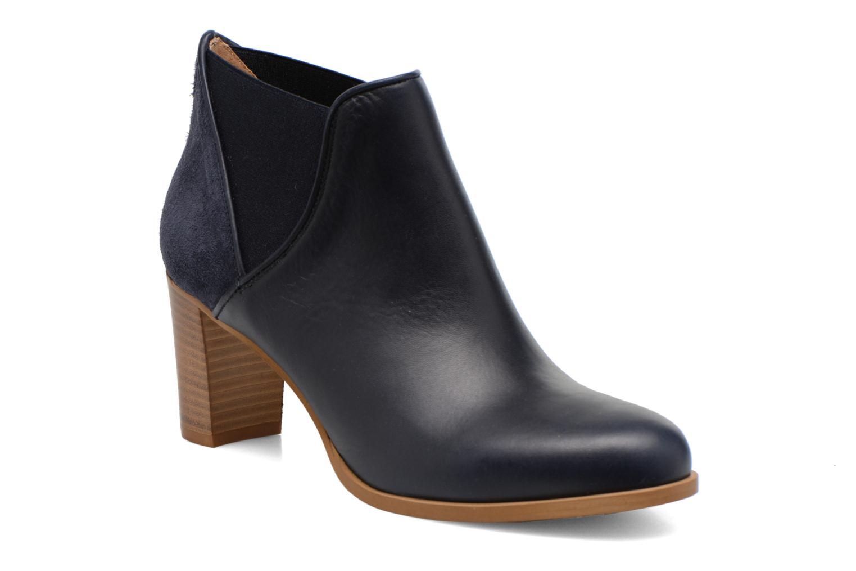 Bottines et boots COSMOPARIS Bamia/bi Bleu vue détail/paire
