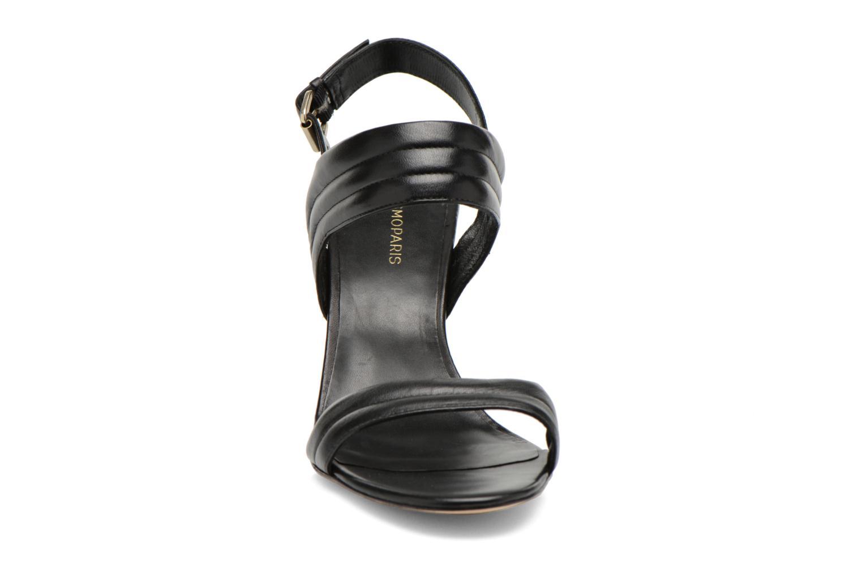 Sandales et nu-pieds COSMOPARIS Pipa Noir vue portées chaussures