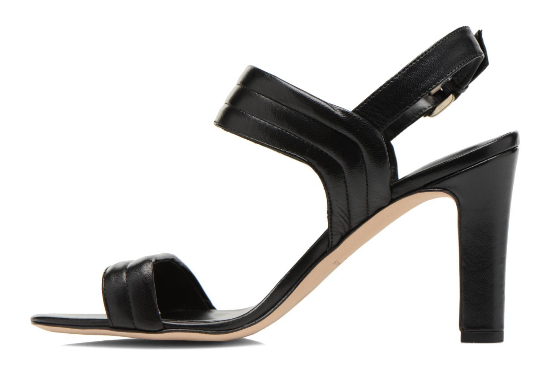Sandals COSMOPARIS Pipa Black front view