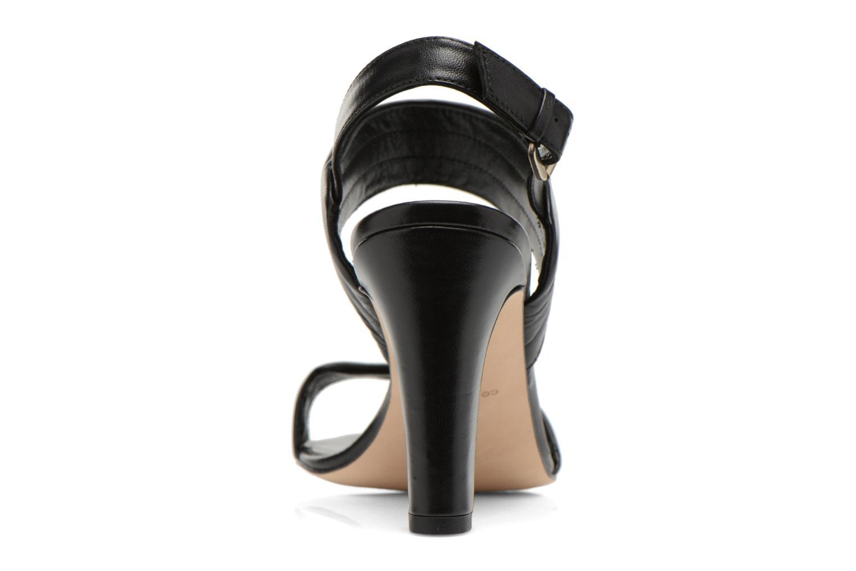 Sandales et nu-pieds COSMOPARIS Pipa Noir vue droite