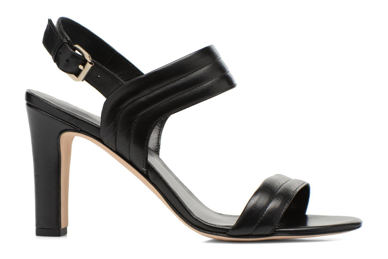 Sandales et nu-pieds COSMOPARIS Pipa Noir vue derrière