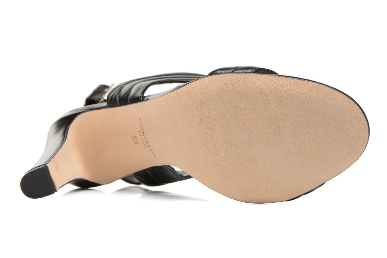 Sandales et nu-pieds COSMOPARIS Pipa Noir vue haut