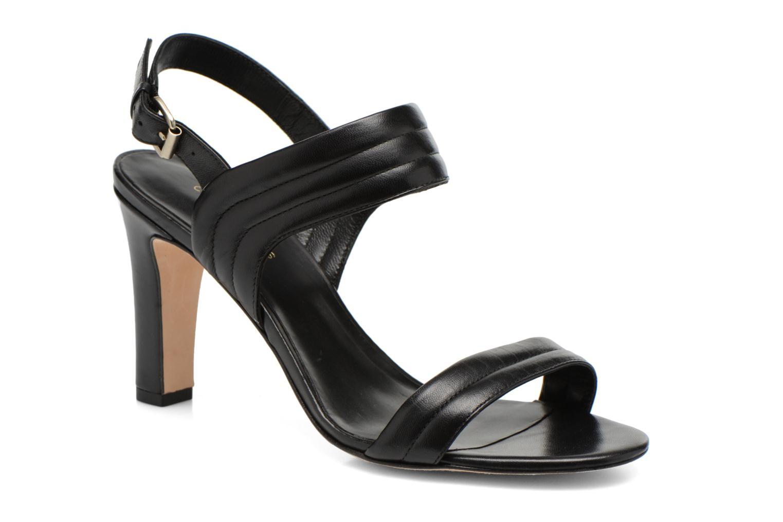 Sandales et nu-pieds COSMOPARIS Pipa Noir vue détail/paire