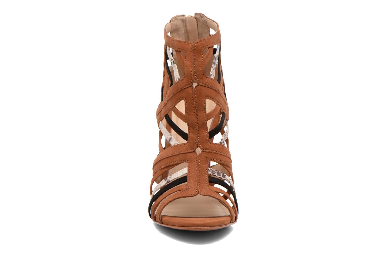 Sandales et nu-pieds COSMOPARIS Carie/bi Marron vue portées chaussures