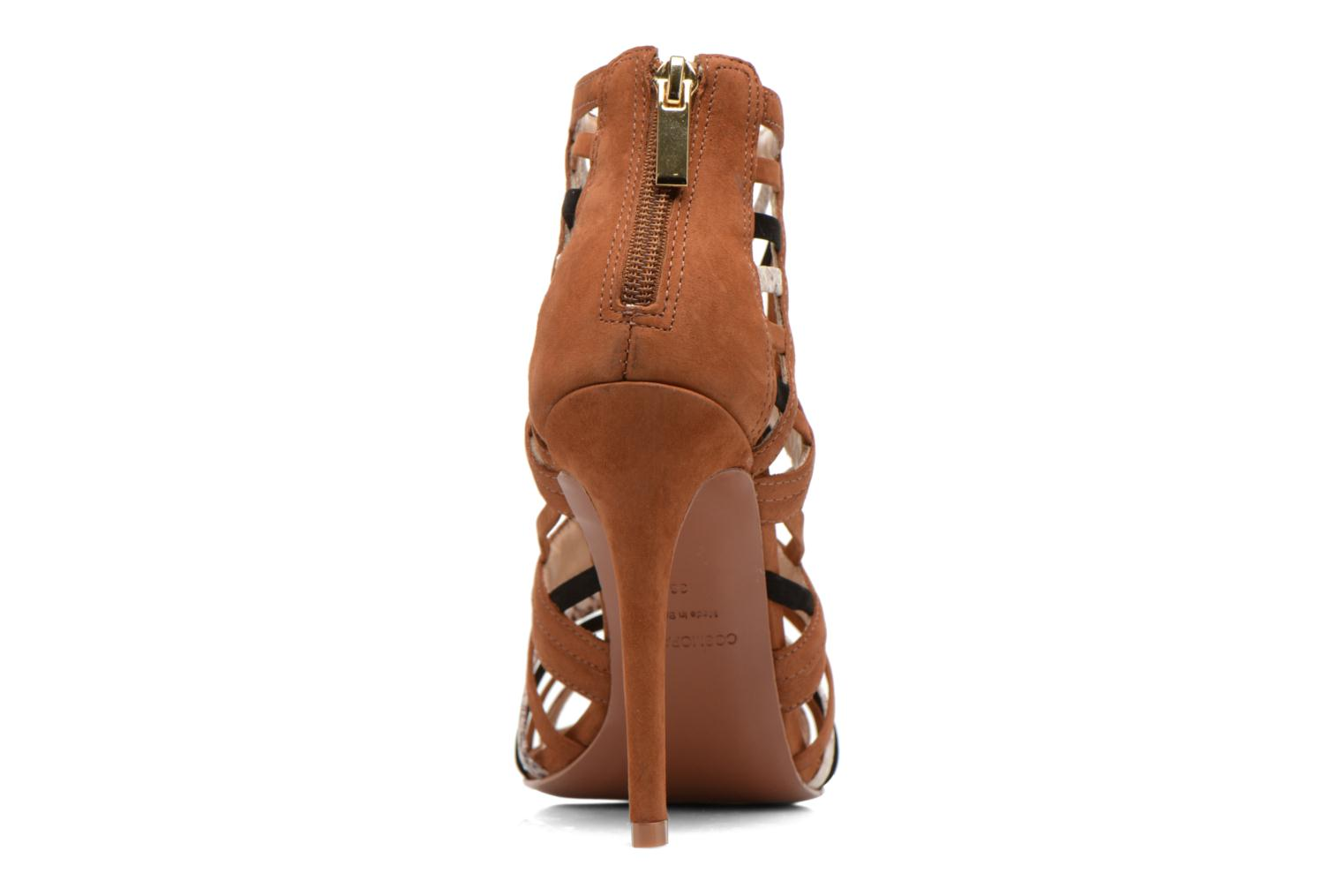 Sandals COSMOPARIS Carie/bi Brown view from the right