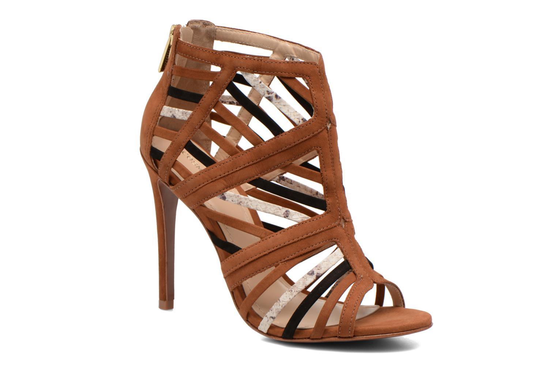 Sandales et nu-pieds COSMOPARIS Carie/bi Marron vue détail/paire